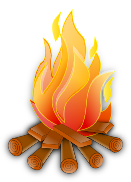 Clipart money on fire image transparent library Fire June Holidays Clipart | i2Clipart - Royalty Free Public Domain ... image transparent library