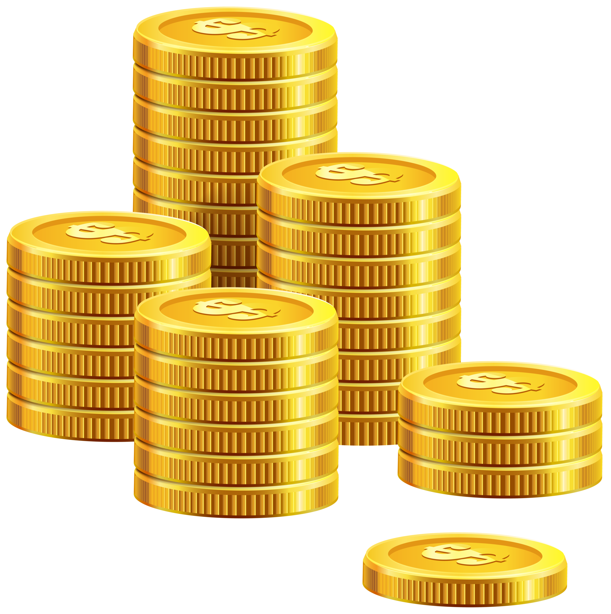 Coin money clipart graphic black and white stock Pile Of Coins PNG Clip Art graphic black and white stock