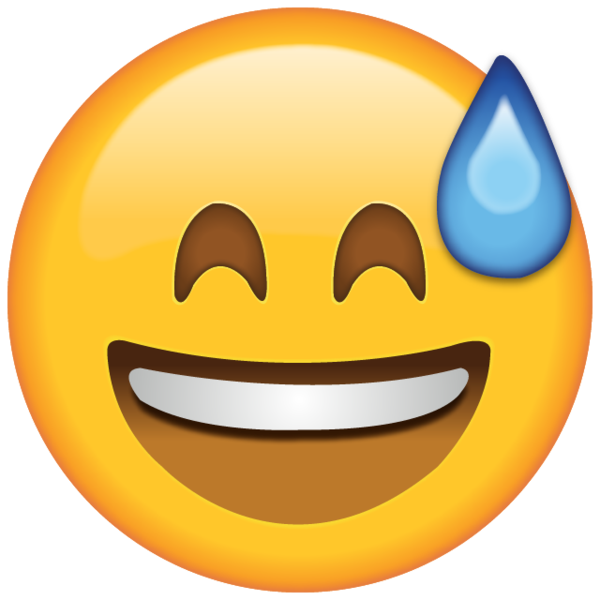 Clipart money smiles clipart library emoji transparent Download smiling with sweat emoji island png ... clipart library