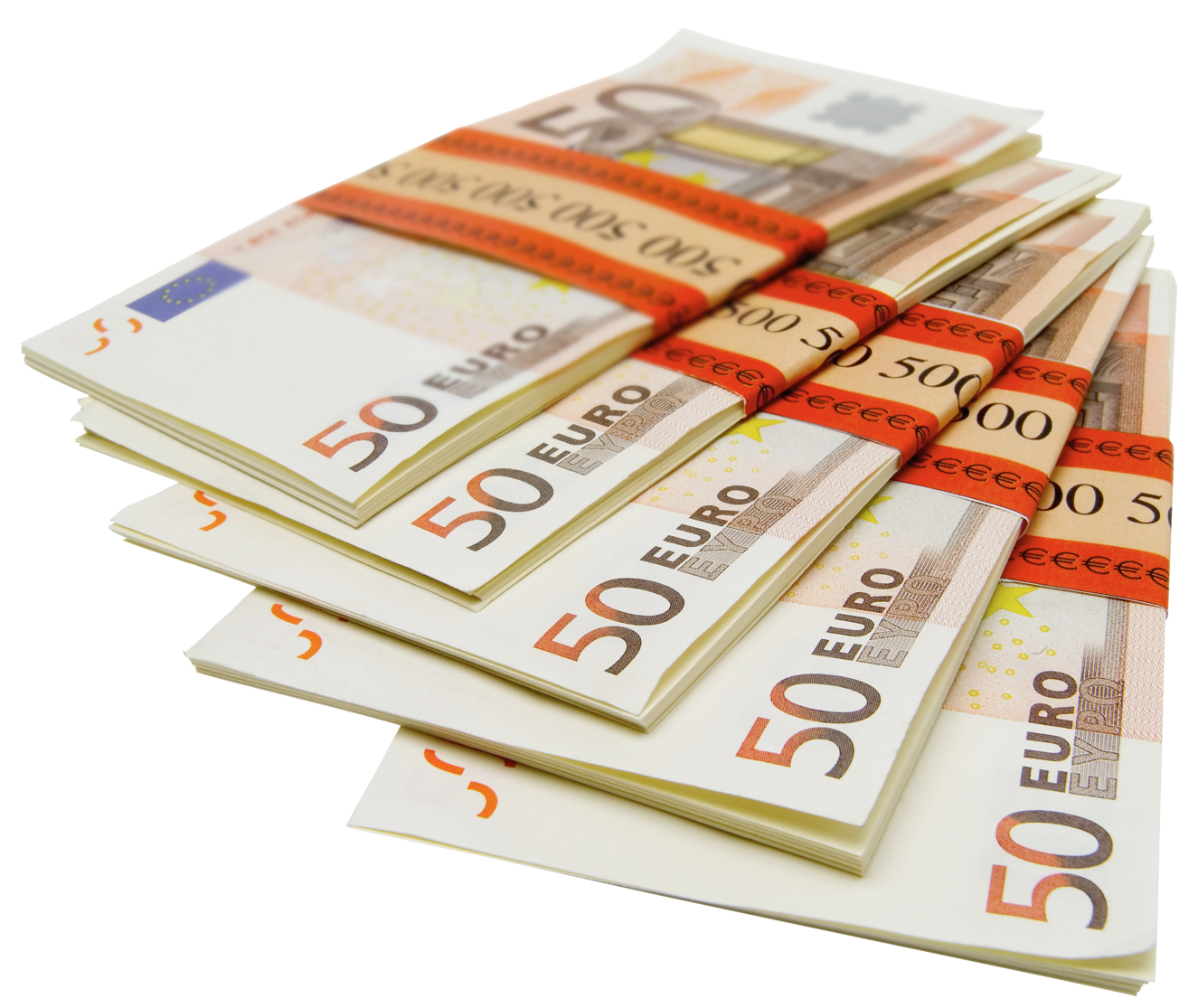 Free clipart money stacks graphic download 50 Euro Stacks PNG Picture | Gallery Yopriceville - High-Quality ... graphic download
