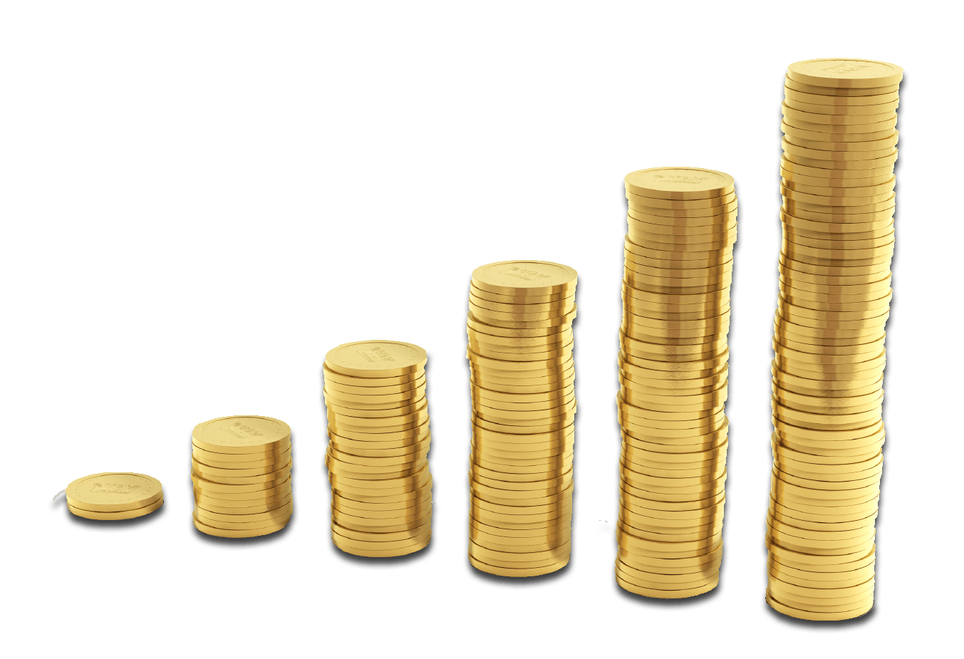 Free clipart money stacks image Stacks Of Coins transparent PNG - StickPNG image