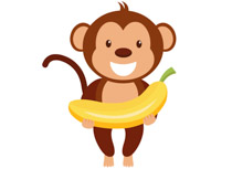 Small monkey clipart clipart library download Free Monkey Clipart - Clip Art Pictures - Graphics - Illustrations clipart library download