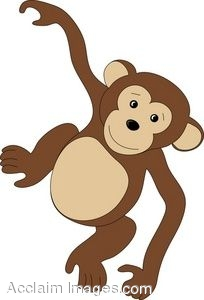 Monkey clipart image black and white download Monkey Clip Art For Teachers | Clipart Panda - Free Clipart Images image black and white download