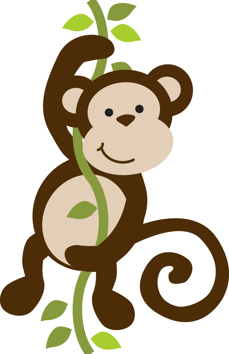 Monkey in tree clipart clip art royalty free stock Photo by @daniellemoraesfalcao - Minus | imprimibles | Pinterest ... clip art royalty free stock