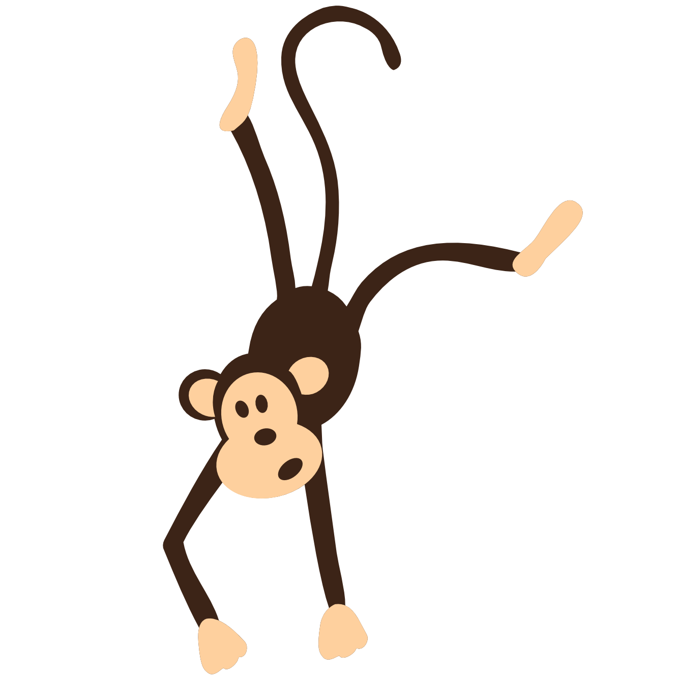 Monkey in tree clipart picture freeuse library Monkey Clip Art Free For Teachers | Clipart Panda - Free Clipart Images picture freeuse library