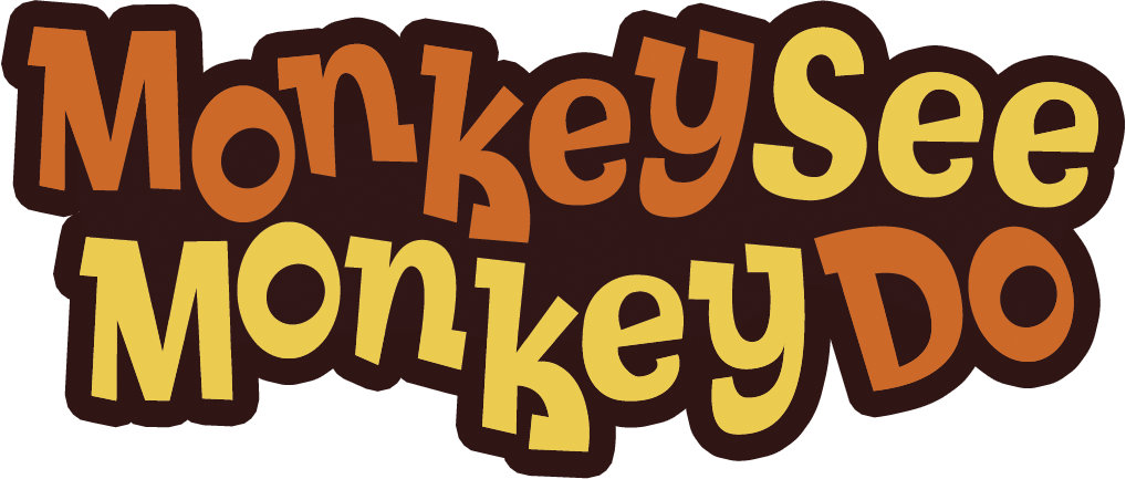 Clipart monkey see monkey do clip library download Qubo - Show - Monkey See Monkey Do clip library download