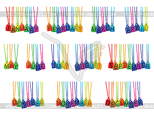 Clipart month names png transparent stock Clipart month names - ClipartFest png transparent stock