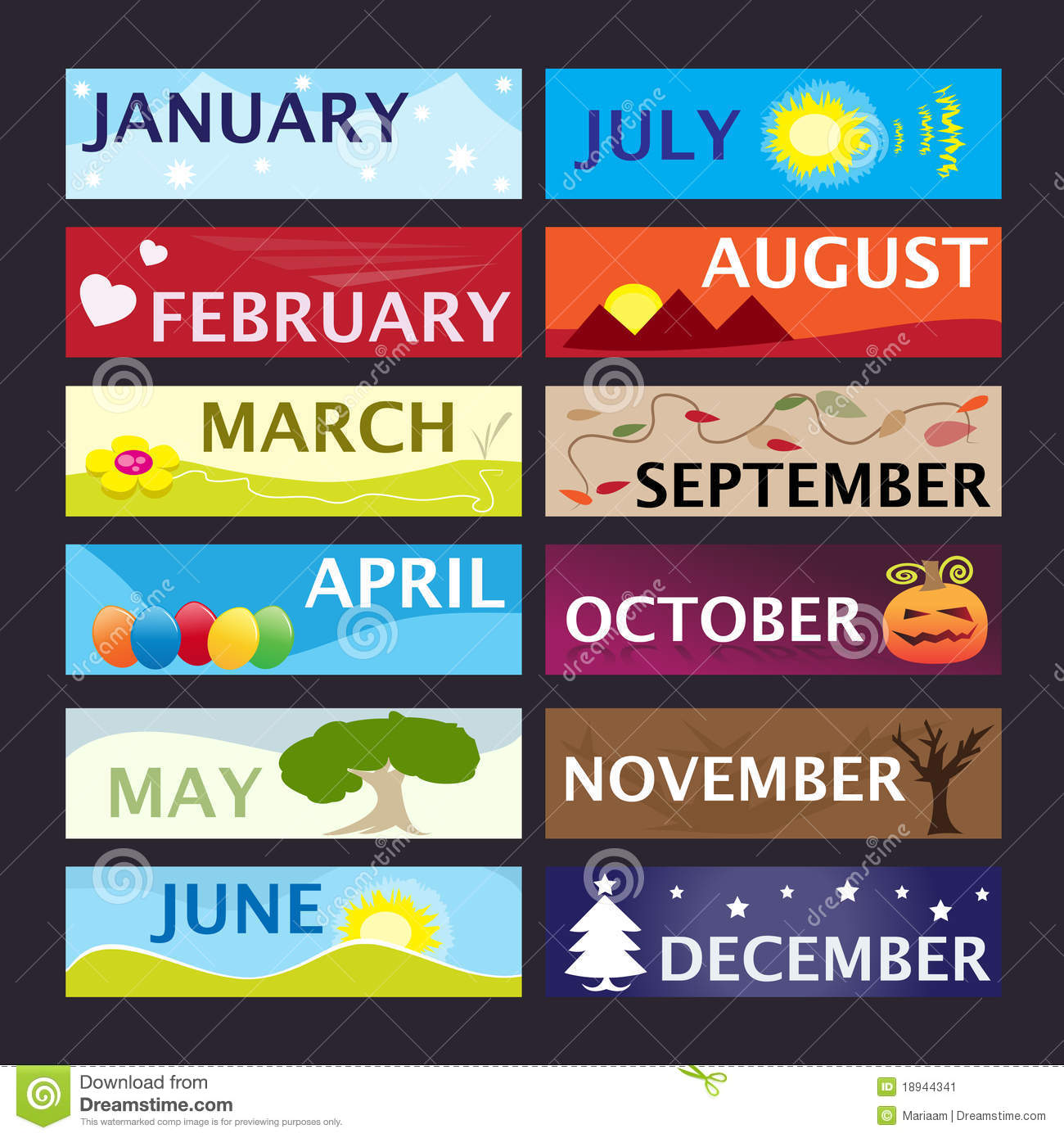 Clipart month of the year clipart freeuse Calendar month clipart - ClipartFox clipart freeuse