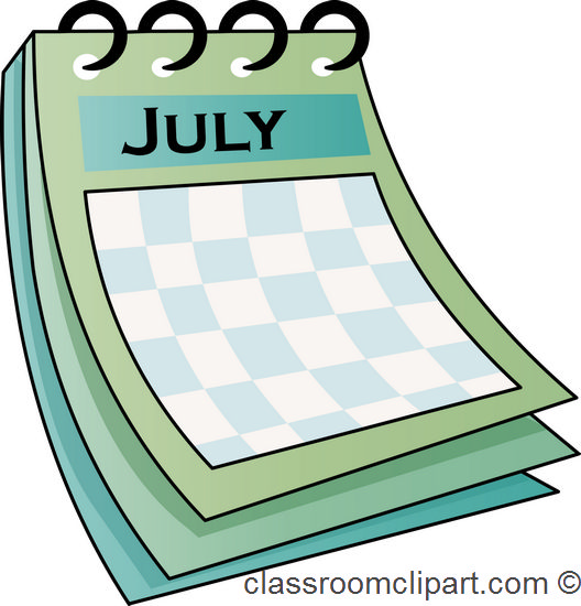 Clipart monthly calendar picture royalty free library Monthly Calendar Clipart - Clipart Kid picture royalty free library