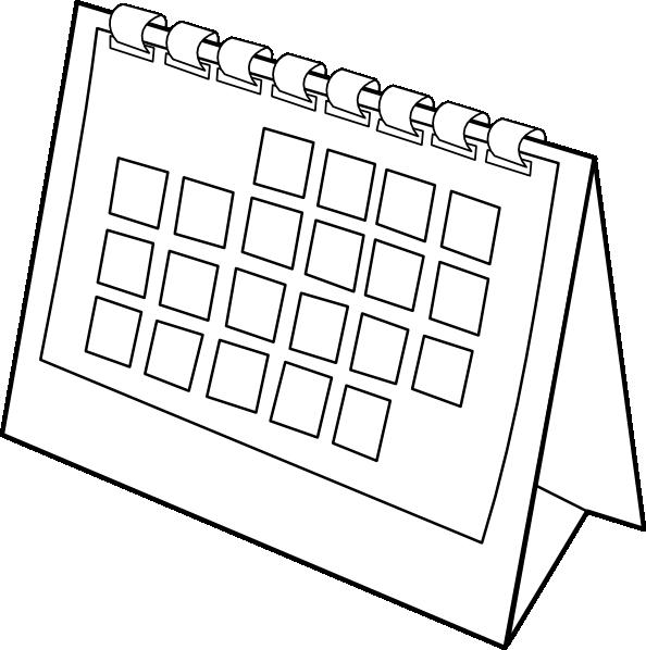 Clipart monthly calendar jpg stock Calendar Clip Art at Clker.com - vector clip art online, royalty ... jpg stock