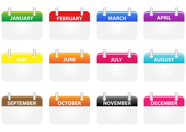 Clipart monthly calendar image free Clipart monthly calendar - ClipartFest image free