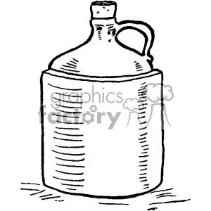 Moonshine jug clipart clip royalty free download vintage moonshine jug vector vintage 1900 vector art GF clipart.  Royalty-free clipart # 402496 clip royalty free download