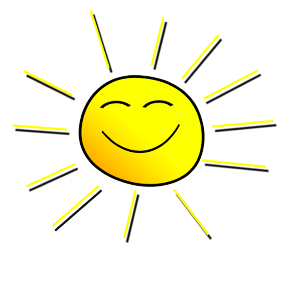 Clipart morning sun graphic library stock Smiling Sun Clipart cupcake clipart hatenylo.com graphic library stock