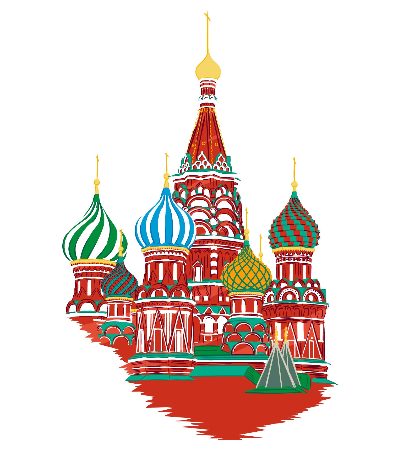 Clipart mosco banner royalty free library Download Ukraine Material St. Painted Of Moscow English Clipart PNG ... banner royalty free library
