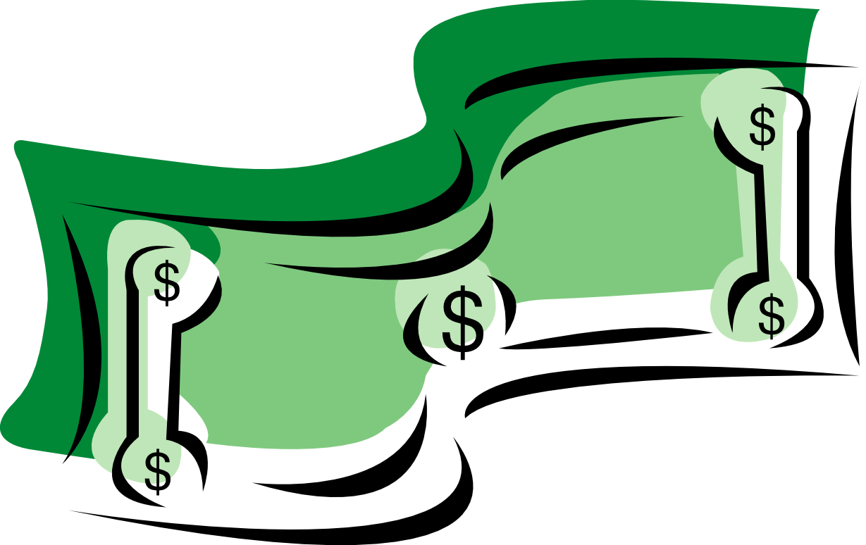 Hand with money clipart picture library library Money Symbol Clipart - Clip Art. Net picture library library