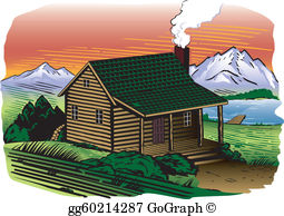 Clipart mountainside