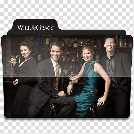 Clipart movie grace banner library Windows TV Series Folders W X, Will & Grace movie illustration ... banner library
