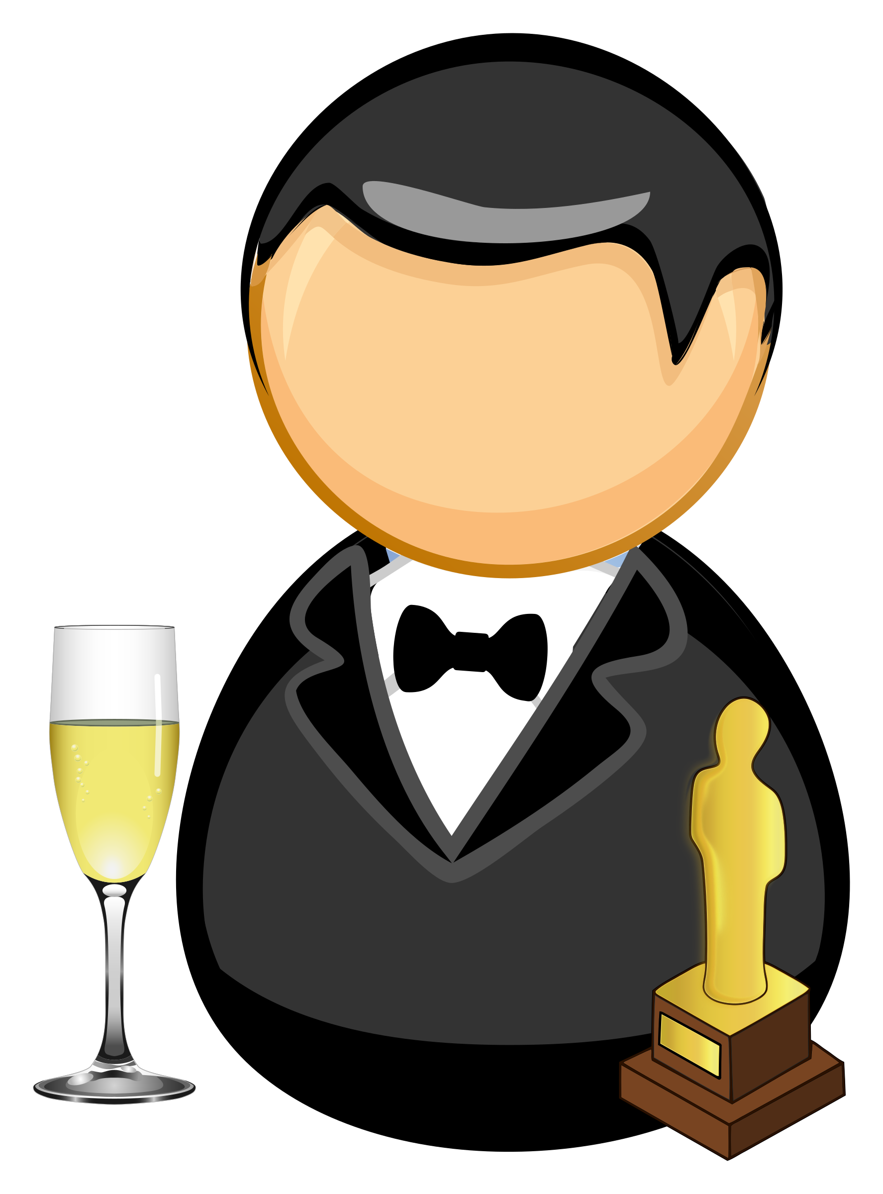 Movie star clipart clipart transparent Clipart - Movie star / actor clipart transparent