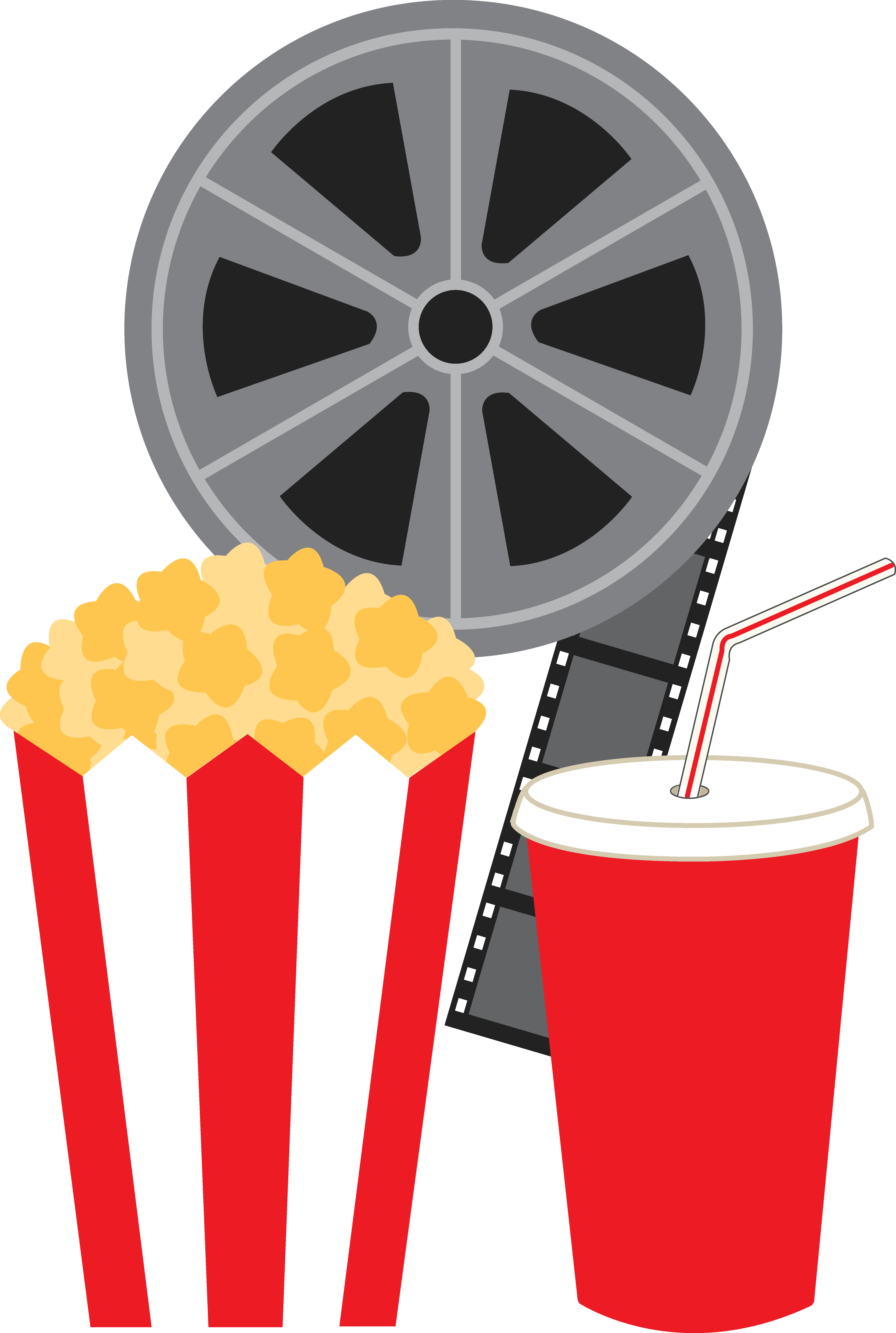 Movie and popcorn clipart png free Free Clip Art | stickers | Movie popcorn, Movie clipart, Movie ringtones png free