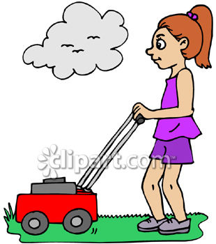 Mow the lawn clipart vector transparent Mowing Grass Clipart | Free download best Mowing Grass Clipart on ... vector transparent