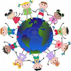 Multicultural clipart free picture black and white download Multicultural Clip Art | Clipart Panda - Free Clipart Images picture black and white download