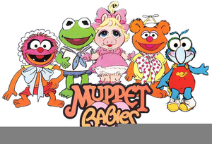 Clipart muppets clip black and white library The Muppets Clipart   Free Images at Clker.com - vector clip art ... clip black and white library