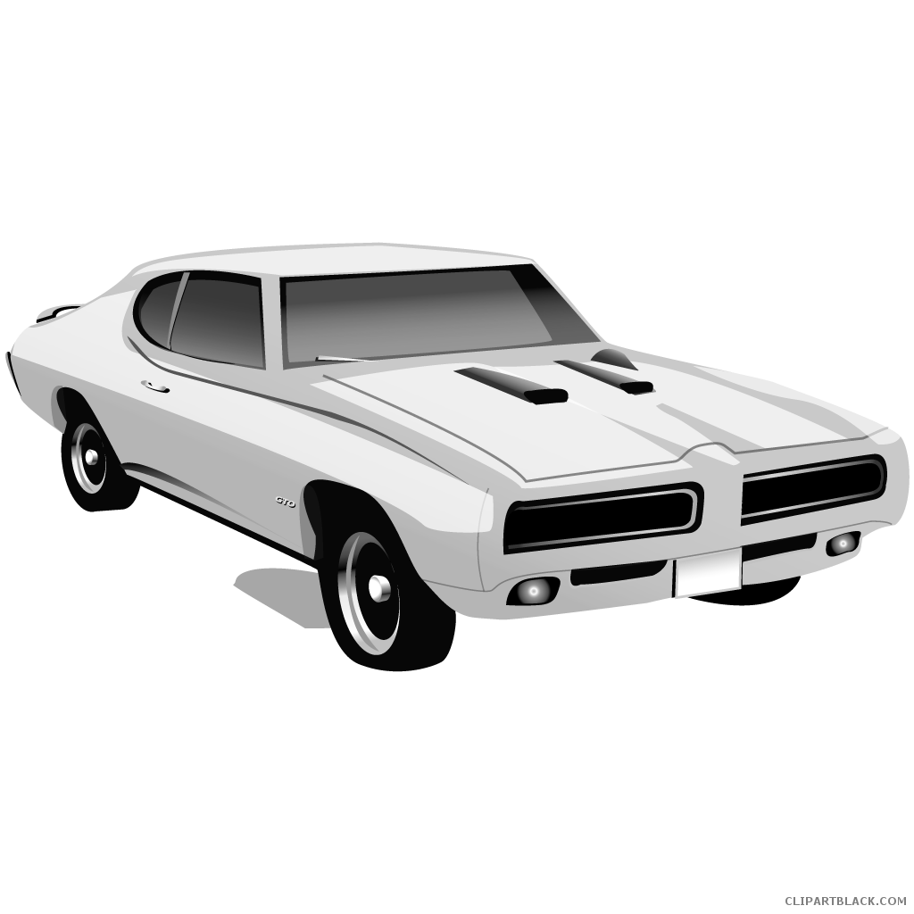 Muscle car clipart free graphic transparent Muscle Car Clipart - ClipartBlack.com graphic transparent