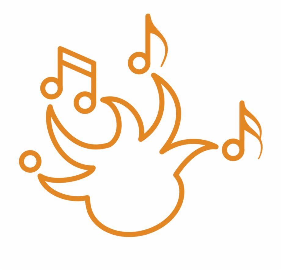 Clipart music 2018 download graphic library stock Music Fest Logo Orange 2018, Transparent Png Download For Free ... graphic library stock
