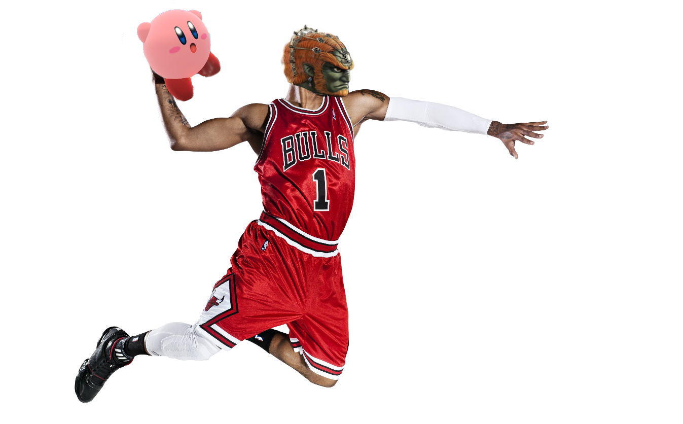 Clipart music staff with basketball players as notes picture free download Replace Kirby with your main and its still accurate | Super Smash ... picture free download