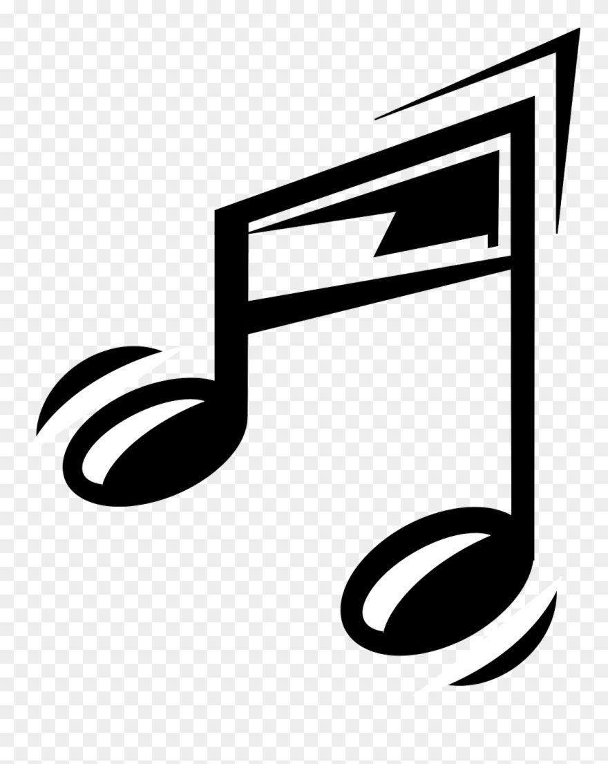 Clipart music symbol clipart library stock Funny Music Note - Cartoon Music Note Clipart (#162794) - PinClipart clipart library stock