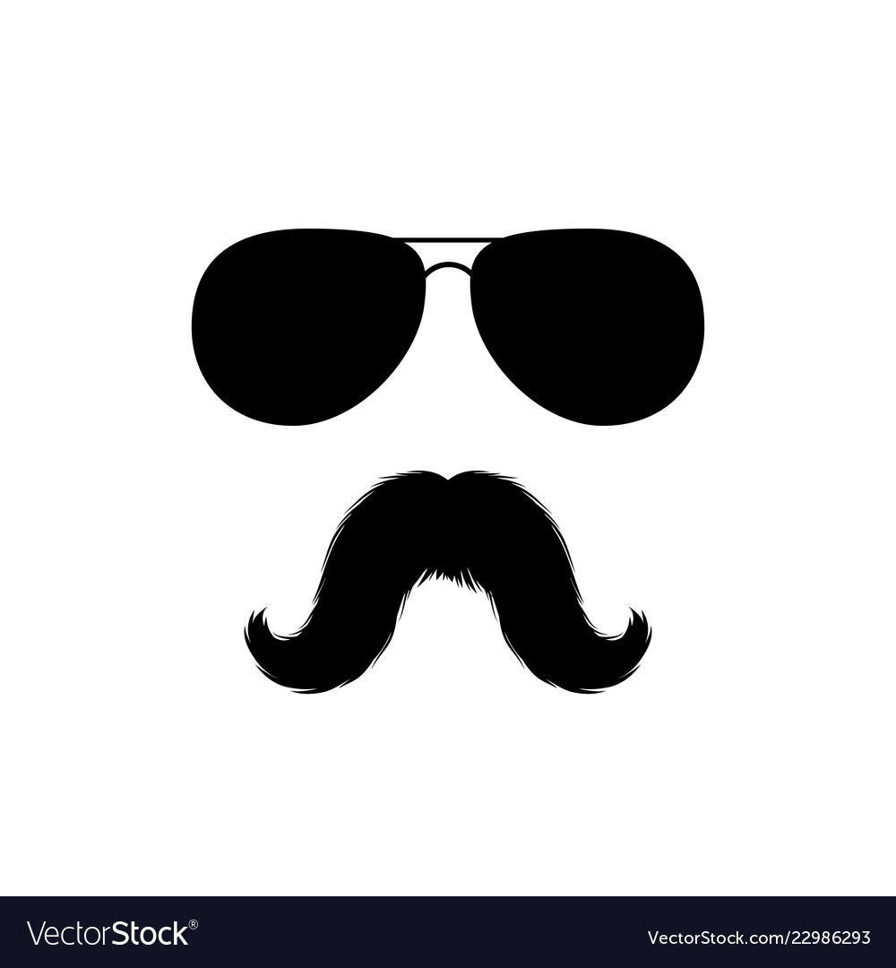 Mustache pictures clipart banner freeuse download Moustaches and sunglasses face clipart black banner freeuse download