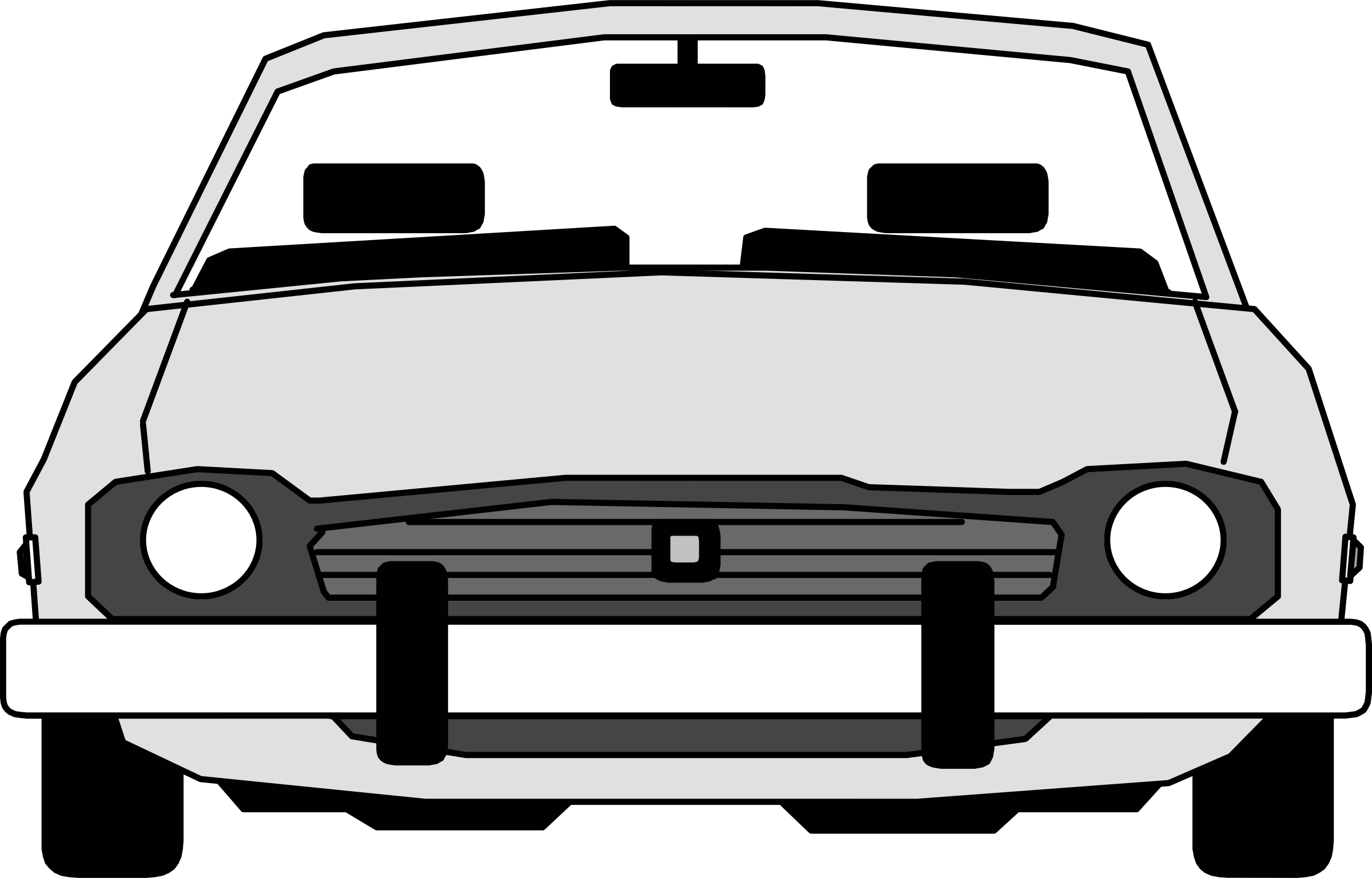 Front of a car clipart picture freeuse 28+ Collection of Front View Of A Car Clipart | High quality, free ... picture freeuse