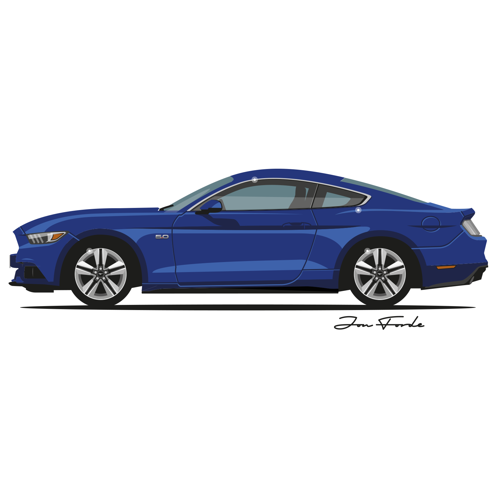 Muscle car clipart clipart freeuse download Ford Mustang GT PNG Clipart - Download free images in PNG clipart freeuse download