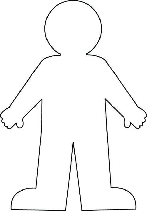 Clipart my body black and white svg freeuse stock clipart of body – artsoznanie.com svg freeuse stock