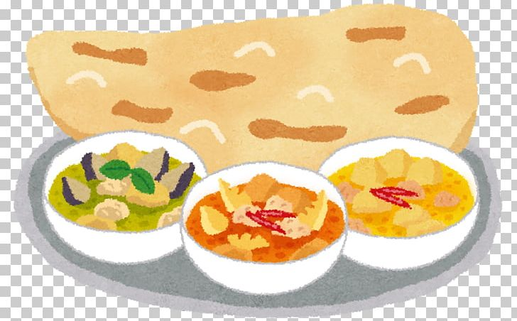 Clipart naan clip royalty free library Indian Cuisine Naan Japanese Curry Yellow Curry Red Curry PNG ... clip royalty free library