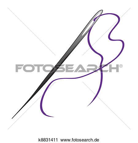 Clipart nadel jpg free download Nadel Clip Art Lizenzfrei. 23.796 nadel Clipart Vektor EPS ... jpg free download