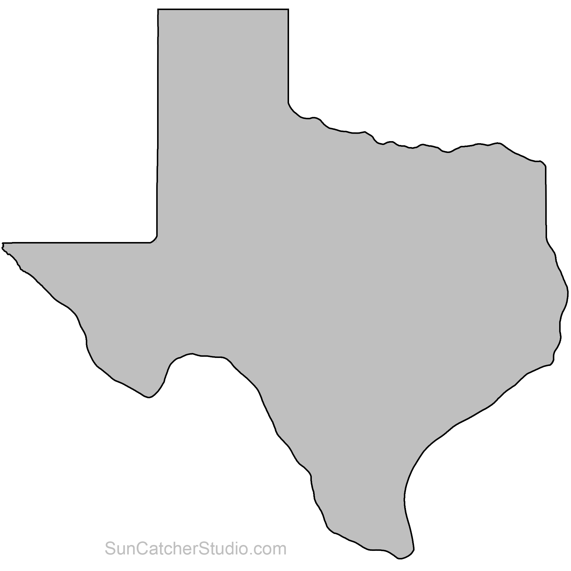 Free 3 5 inch state of texas clipart