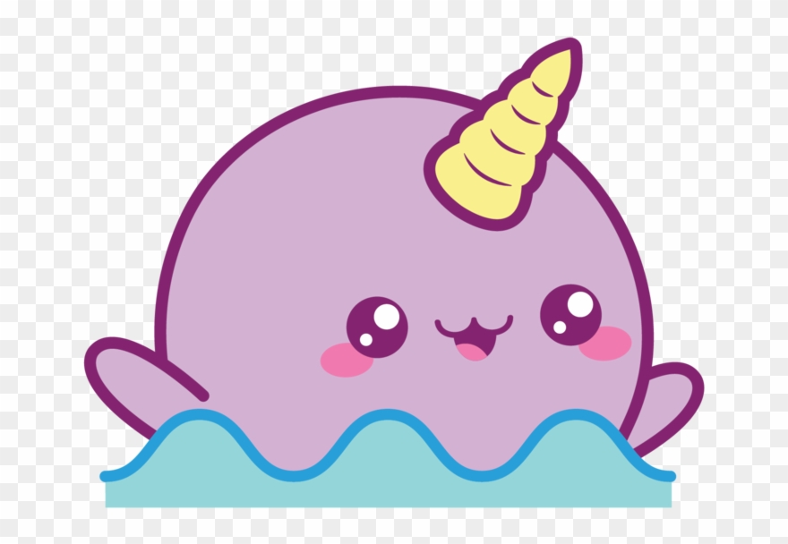Narwl clipart svg royalty free library Splashing Narwhal Clipart (#3214787) - PinClipart svg royalty free library
