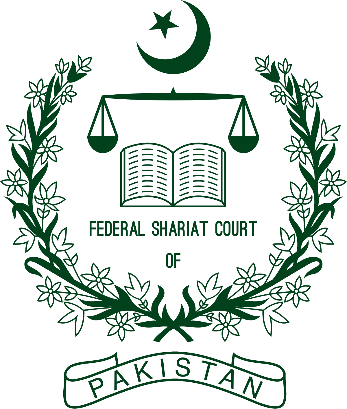Clipart national court decisions svg freeuse stock Federal Shariat Court - Wikipedia svg freeuse stock