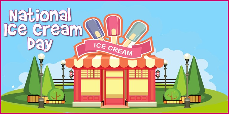 Clipart national ice cream day black and white National Ice Cream Day 2019 | MyCentralFloridaFamily.com black and white