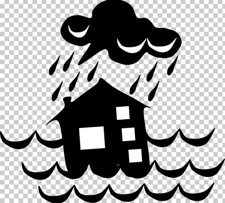 Clipart natural disaster clipart free Natural Disaster Flood PNG, Clipart, Artwork, Black, Black And White ... clipart free