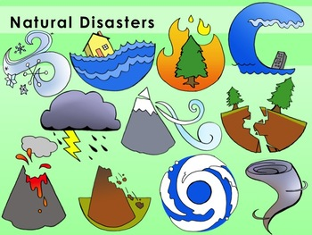 Clipart natural disaster banner free Natural Disasters Clip Art by MrsSpeaker | Teachers Pay Teachers banner free