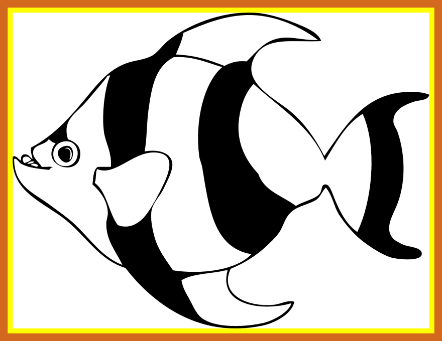 Kid fish clipart clip free Astonishing Marine Fish Clipart Nemo Collection And Share For ... clip free