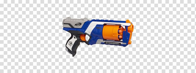 Clipart nerfgun free stock NERF N-Strike Elite Strongarm Blaster Nerf Blaster, toy transparent ... free stock