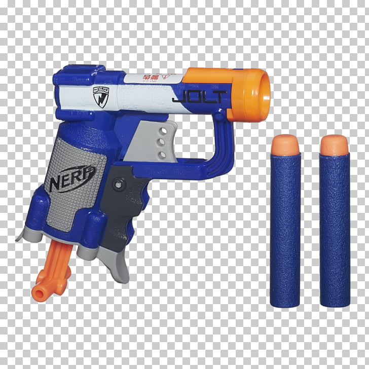 Clipart nerfgun vector black and white stock NERF N-Strike Elite Jolt Blaster Amazon.com, toy PNG clipart | free ... vector black and white stock