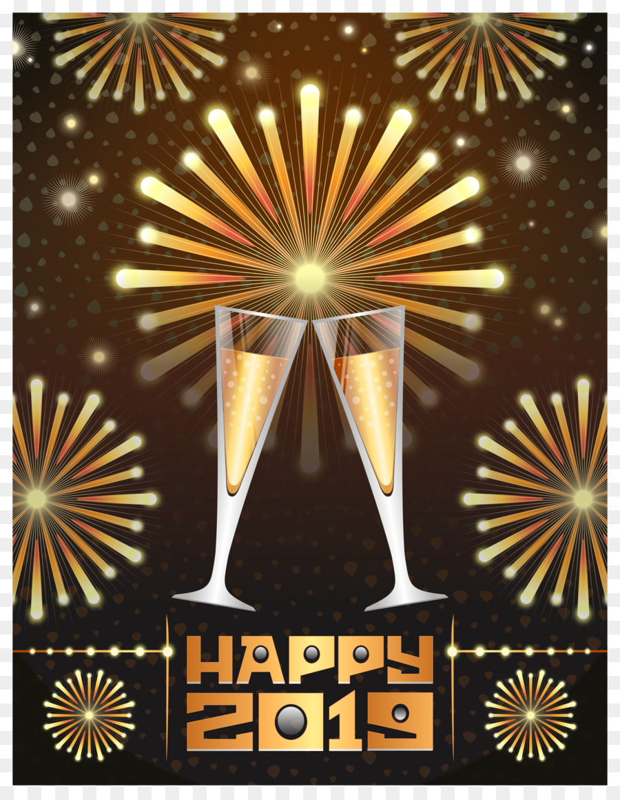 Clipart new years 2019 library Christmas And New Year Backgroundtransparent png image & clipart ... library