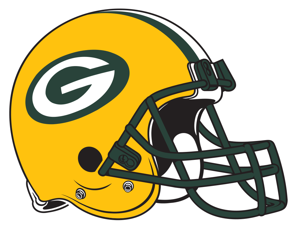 Packers football clipart jpg black and white Nfl Football Helmets Padding | Clipart Panda - Free Clipart Images jpg black and white
