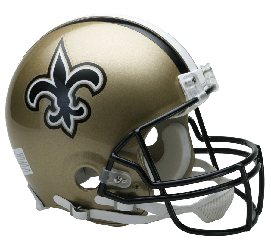 Nfl football helmet clipart vector royalty free stock New Orleans Saints Helmet transparent PNG - StickPNG vector royalty free stock