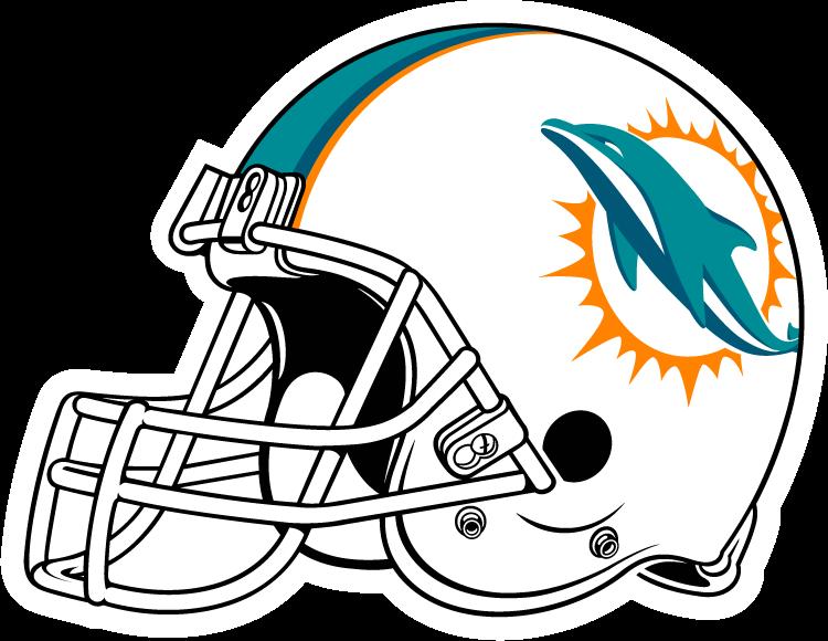 Nfl football helmets clipart transparent library Miami Dolphins Helmet Clipart transparent library