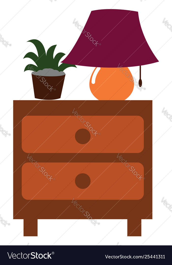 Clipart night stand clipart library stock Clipart a nightstand side table with two clipart library stock